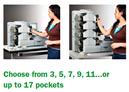 Počítačky bankovek Multipocketové