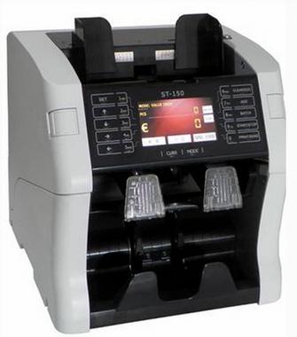 ST 150 2-pocketová počítačka bankovek